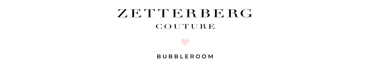Zetterberg Couture x Bubbleroom