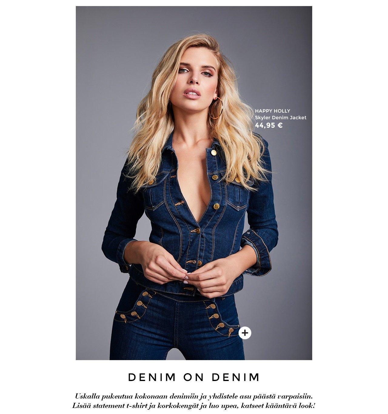 Skyler denim jacket - Adina highwaist