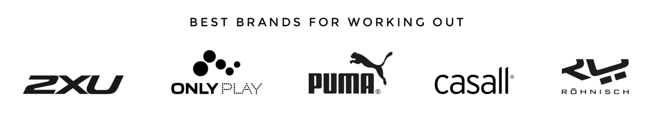 Best brands for workouts