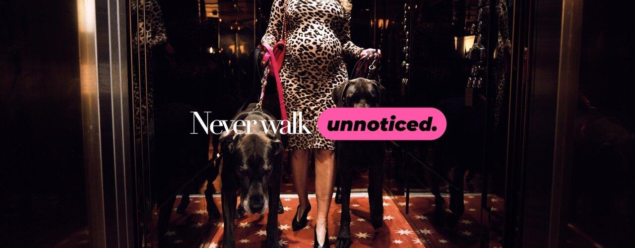 Never Walk Unnoticed - Carolina Gynning