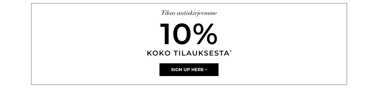 Bubbleroom alennus - 10% koko tilauksesta*