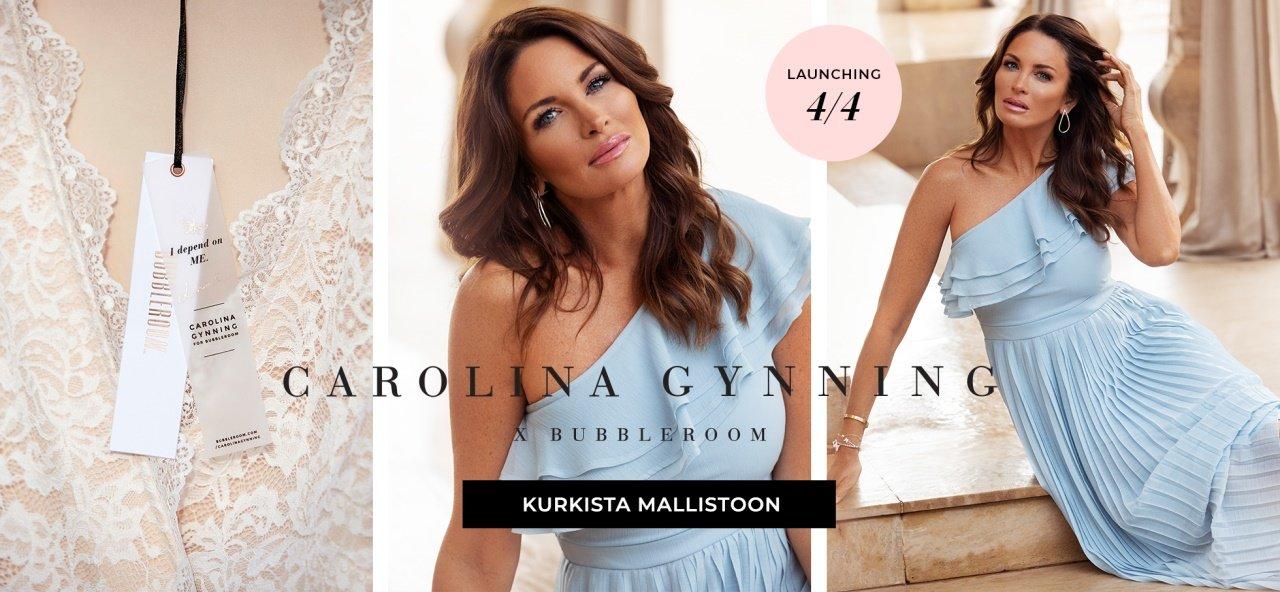 Carolina Gynning x Bubbleroom - Kurkista mallistoon