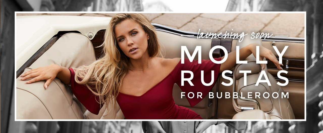Molly Rustas For Bubbleroom