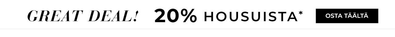 20% housuista