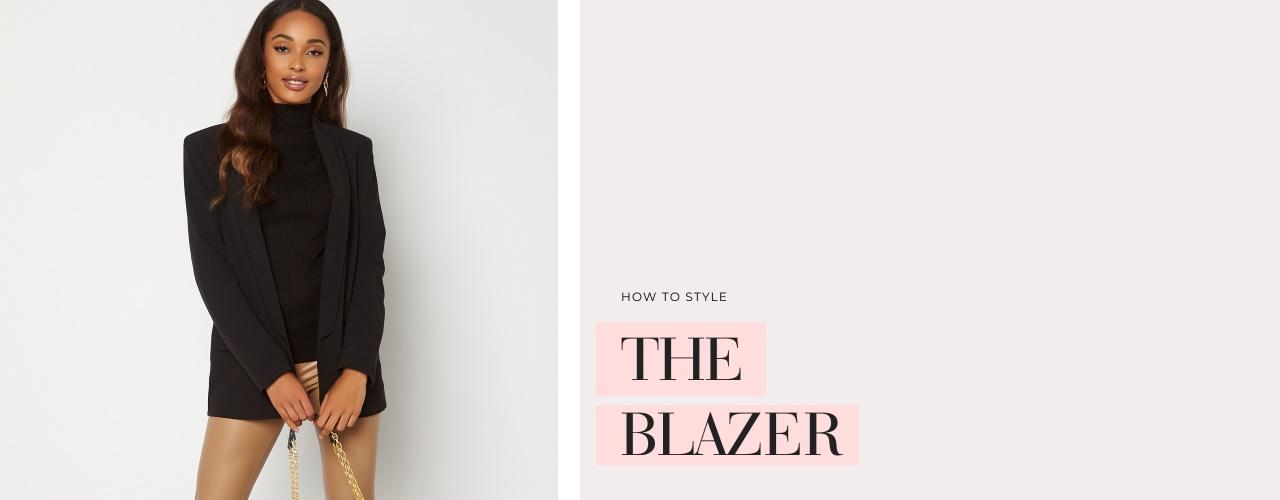 How to style the blazer - Osta täältä