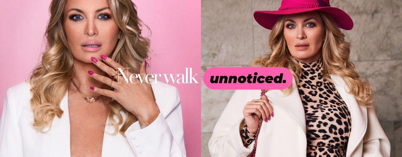 Never Walk Unnoticed - Osta täältä