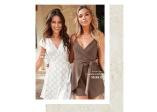 Chiara Forthi Sonnet mini wrap dress ja Chiara Forthi Betty Playsuit