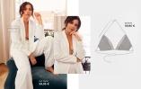 Nicole Falciani - valkoinen jakku ja tyylikkäät housut