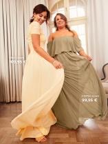 Nicole Falciani Mesh Gown ja Chiffon Gown