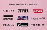 Osta farkut merkiltä Levis, Dr Denim, 77thFlea, Tommy Jeans, Guess och Pieces