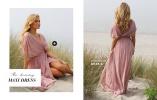 ihana vaaleanpunainen pitkä mekko