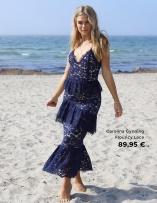 Carolina Gynning Flouncy Lace mekko
