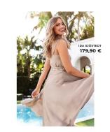 Kaunis mekko joka sopi tanssiaisiin ja kesän juhliin