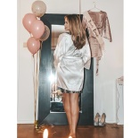 Bride to be robe from Bubbleroom
