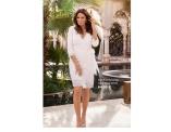 Valkoinen wrapp mekko - Carolina Gynning