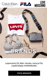 FILA, D.brand, Levis, Marc Jacobs, Michael Kors, Calvin Klein, Dorina, PUMA