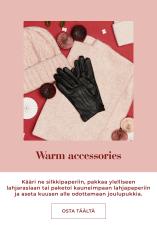 Warm accessories for winter, find your christmas gift - Osta täältä