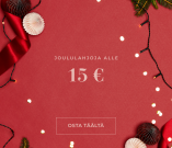 Joululahjoja alle 15 € - Osta täältä