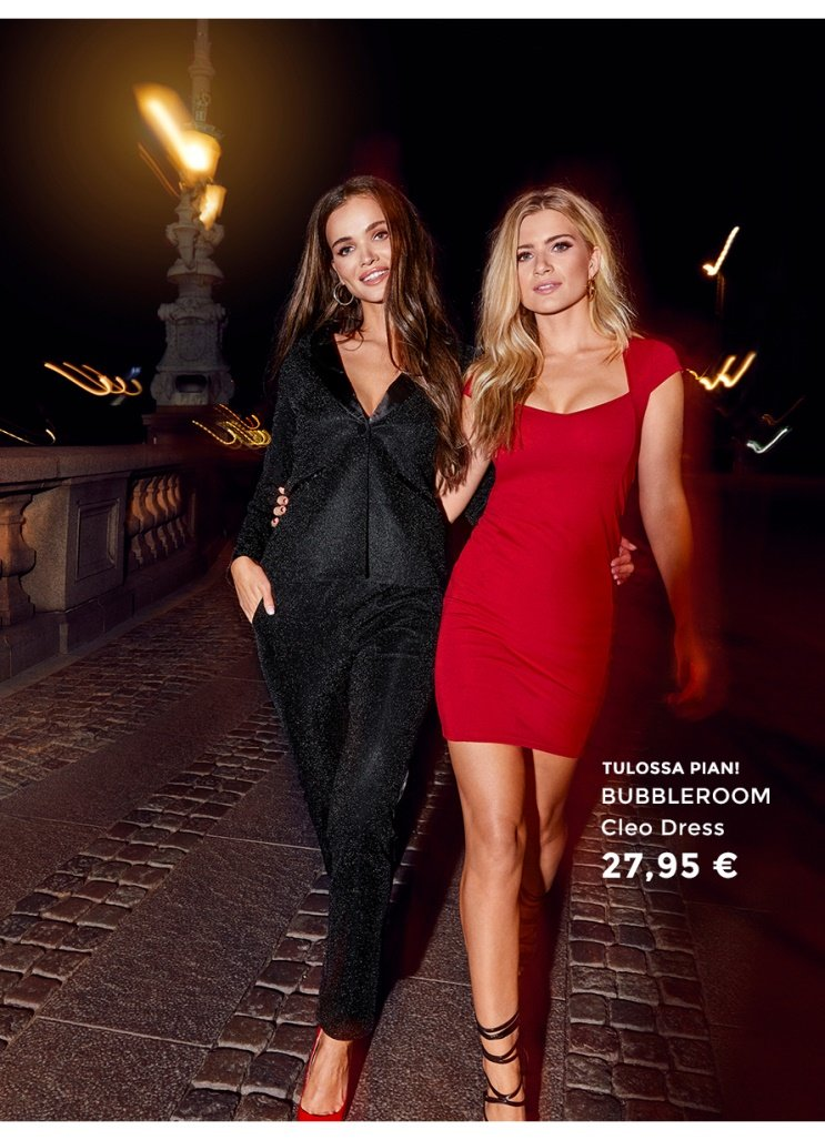 Party season is here! Shop party dresses, tops and matching sets.