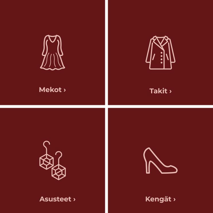 Find your christmas gift - Mekot, Takit, Kengät, Asusteet - Osta täältä