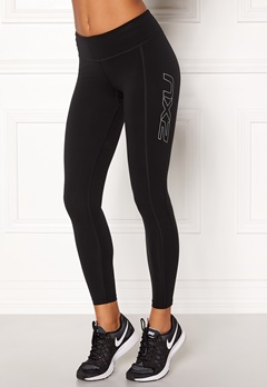2XU Fitness Compression Tight Black/silver Bubbleroom.fi