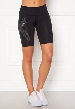 2XU Mid-Rise Comp Shorts BLK/DRF Black/Dotted Bubbleroom.fi