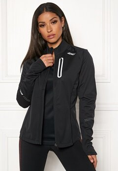 2XU Wind Defence Membrane Jacket Black/black Bubbleroom.fi