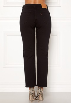 LEVI'S 501 Crop Jeans 0085 Black Heart Bubbleroom.fi