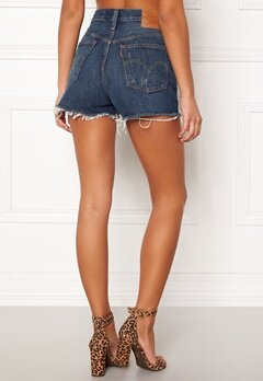 LEVI'S 501 High Rise Short 0018 Silver Lake Bubbleroom.fi