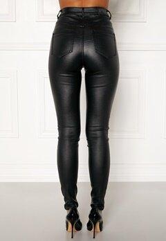77thFLEA Bianca coated jeans Black Bubbleroom.fi