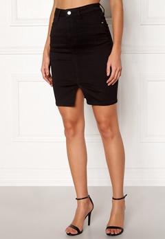 77thFLEA Bianca superstretch skirt Black Bubbleroom.fi