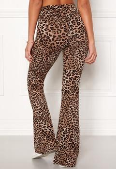 77thFLEA Cozensa printed trousers Leopard Bubbleroom.fi