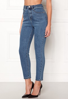 77thFLEA Felice high waist jeans Dark blue Bubbleroom.fi