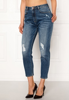 77thFLEA Indigo boyfriend jeans Medium blue Bubbleroom.fi