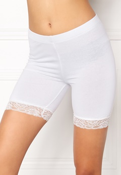 77thFLEA Juli short lace leggings White Bubbleroom.fi