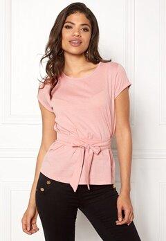 77thFLEA Layla t-shirt Dusty pink Bubbleroom.fi