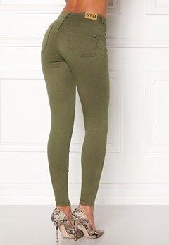 77thFLEA Miranda Push-up jeans Green Bubbleroom.fi