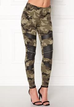 77thFLEA Pixie Leggings Camouflage / Black Bubbleroom.fi