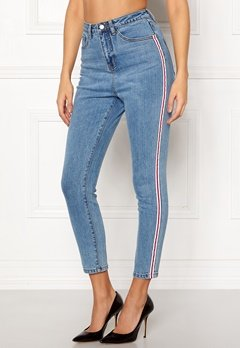 77thFLEA Tinnie highwaist jeans Blue Bubbleroom.fi