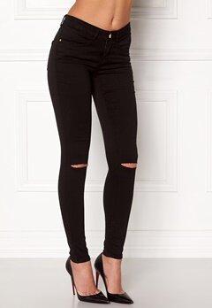 77thFLEA Vera superstretch jeans Black Bubbleroom.fi