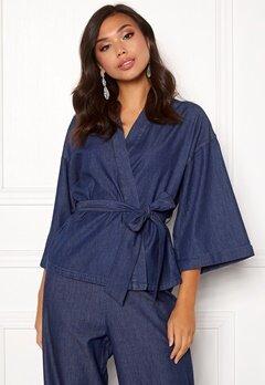 77thFLEA Yoko kimono  Medium blue Bubbleroom.fi