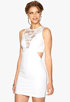 WYLDR Look out dress White Bubbleroom.fi