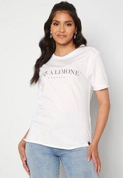 Acqua Limone T-shirt Classic White bubbleroom.fi