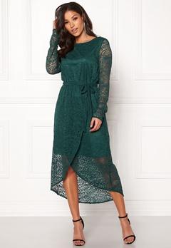 OBJECT Adelina L/S Dress Pine Grove Bubbleroom.fi