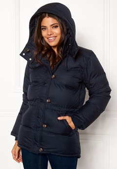 Boomerang Alexandra Down Jacket Blackish Navy Bubbleroom.fi