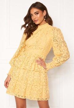 Alexandra Nilsson X Bubbleroom Lace dress Yellow Bubbleroom.fi