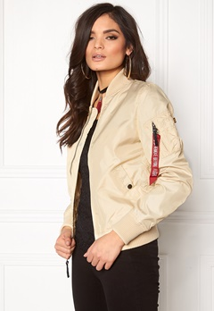 Alpha Industries MA-1 TT Caramel Bubbleroom.fi