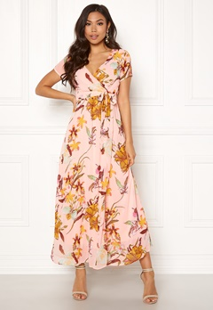 VERO MODA Amsterdam S/S Maxi Dress Sepia Rose Bubbleroom.fi