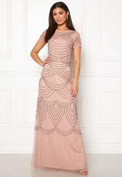AngelEye Decorative Sequin Dress Cameo Rose Bubbleroom.fi