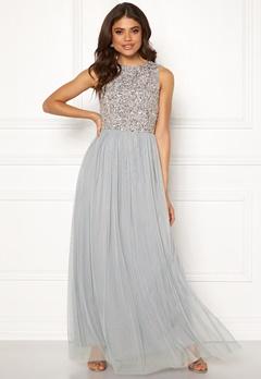 AngelEye Sleeveless Bodice Dress Light Grey Bubbleroom.fi